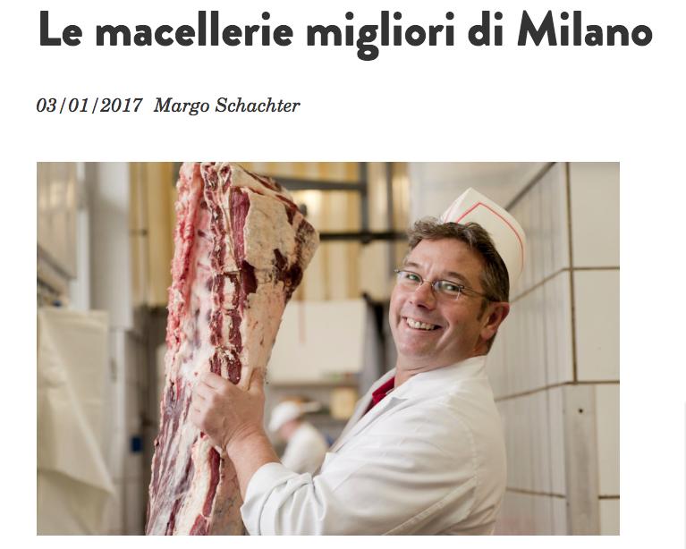 Le macellerie migliori di Milano