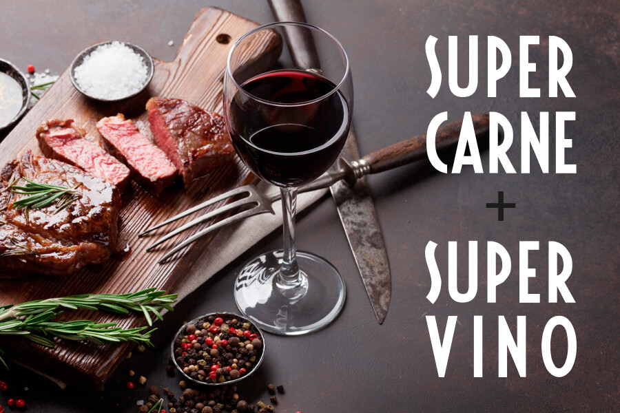 SUPERCARNE</br>+SUPERVINO
